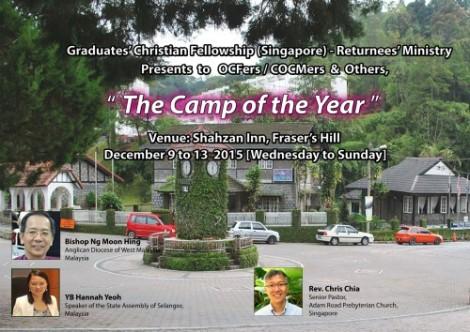 Returnees' Camp, 9 – 13 December2015