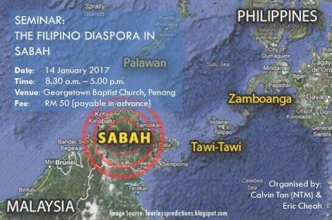The Filipino Diaspora in Sabah, 14 January2017